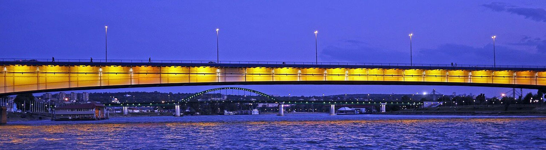 Brankov most noću